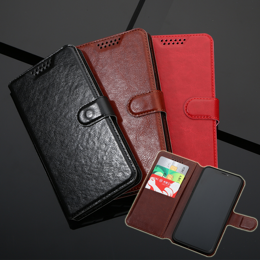 Magnetic Leather Book Flip Phone <font><b>Case</b></font> For xiaomi <font><b>redmi</b></font> <font><b>note</b></font> 8 <font><b>pro</b></font> 8t 8a 7 <font><b>6</b></font> 7a 6a 5 plus a2 lite Card Holder stand Cover Coque image