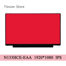 N133HCE-EAA Rev.C1 Matte IPS Laptop LCD Slim Bildschirm FHD 1920*1080 eDP 30 pins 45% NTSC 13.3 \