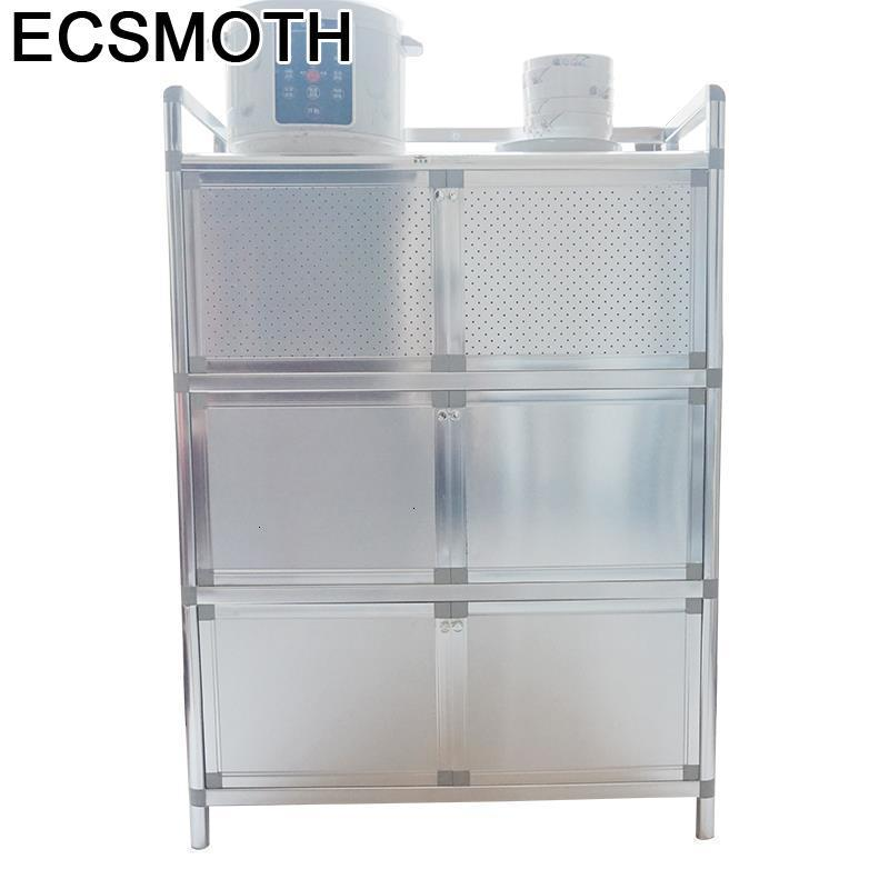 Comedores Dolap Kaplama Console Tables Aparadores Cabinet Meuble Buffet Mueble Cocina Aluminum Alloy Kitchen Furniture Cupboard