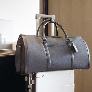 Image 3 - Светильник, дорожная сумка для деловых поездок, вместительная сумка для хранения багажа 35 л, водонепроницаемая складная сумка для отдыха на открытом воздухе