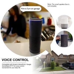 """Image 5 - Interruptor WiFi controlador de abridor de puerta de garaje inteligente Compatible con Alexa, Control por voz de Google IFTTT Smart """"eWeLink"""" APP control"""