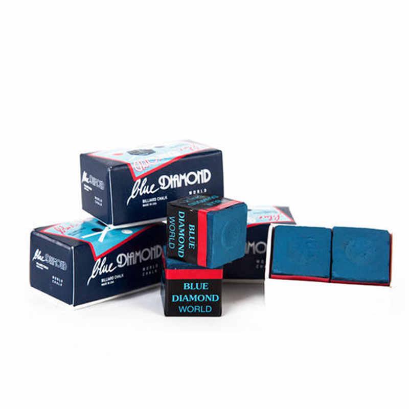 Wysokiej jakości Longoni niebieski bilard w kolorze niebieskiego diamentu kij do snookera stick chalks akcesoria bilardowe