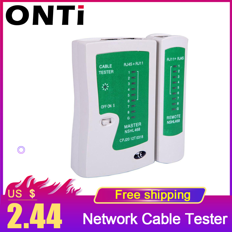 New Professional Super Mini Network LAN Cable Wire Cat5 RJ11 RJ45 Tester