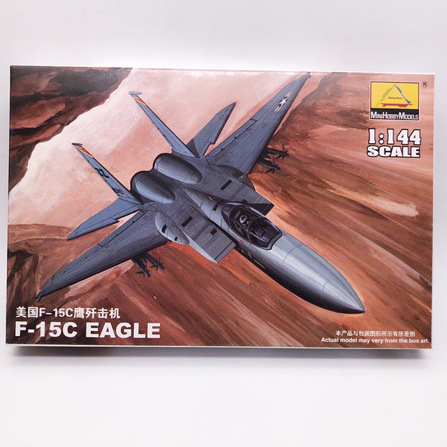 1: 144 Fighter Military Plastic Assembly Aircraft Model 25 Kinds to Choose