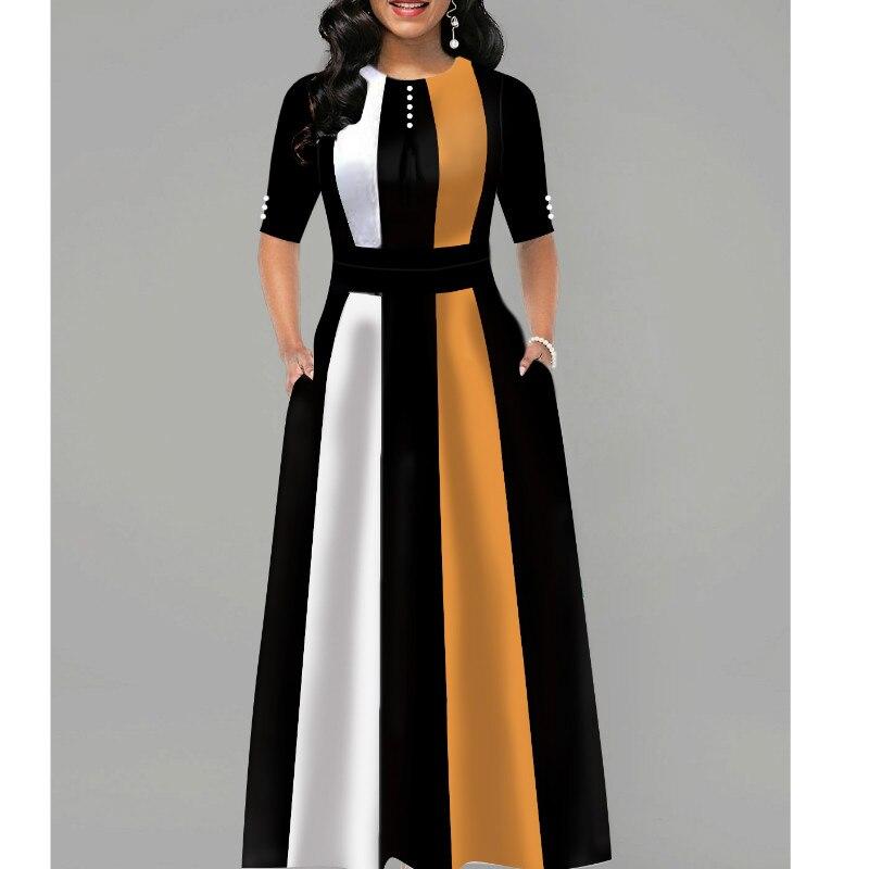 Женское вечернее платье в стиле ретро, элегантное офисное платье для вечерние, новая мода 2020 года
