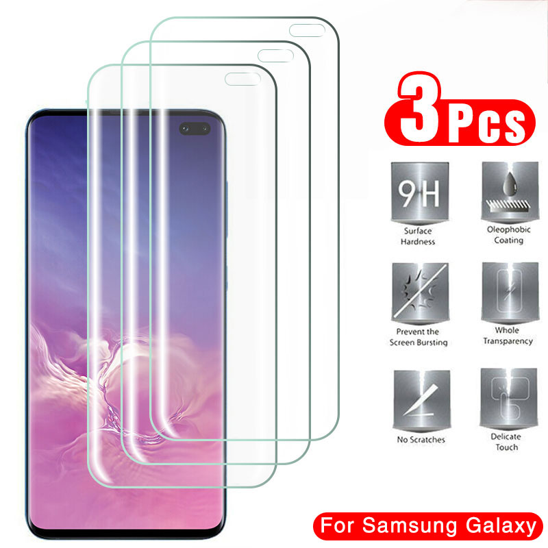 3Pcs Hydrogel Protective Film Screen Protector For Samsung Galaxy S8 S9 S10 S20 Plus Ultra Screen Protector For Note 8 9 10 Film Phone Screen Protectors    - AliExpress