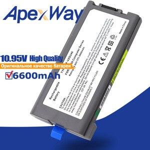 Batería del ordenador portátil para Panasonic Toughbook CF-30 CF-31 CF-53 CF-VZSU46 CF-VZSU46S CF-VZSU46R CF-VZSU46AU CF-VZSU71U CF-VZSU1430U