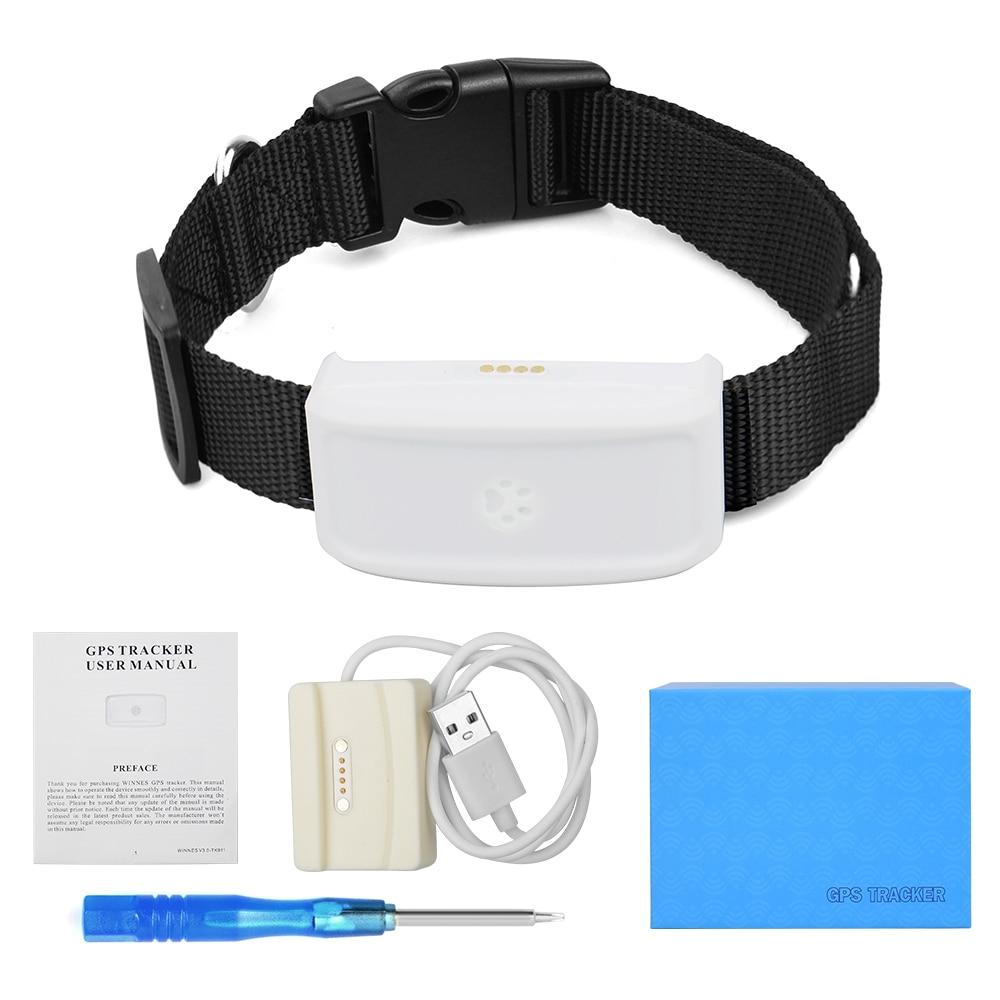 Водонепроницаемый мини GPS-трекер TK911 для домашних животных, кошек, собак, локатор, маленькое устройство отслеживания в реальном времени, Google ...