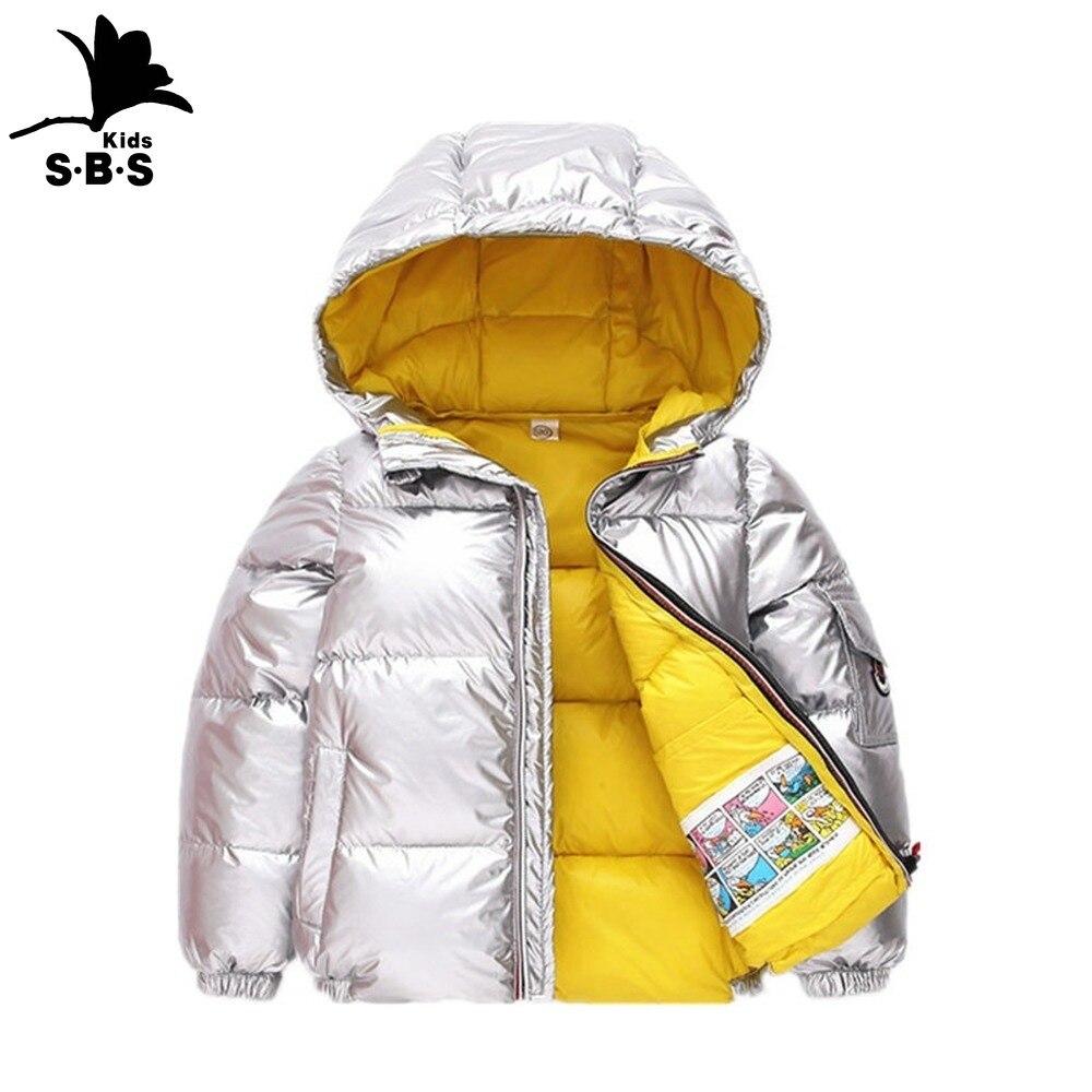 Autumn Winter Jacket Kids Girl Boys Hooded Coat Baby Outwear Parka Snowsuit
