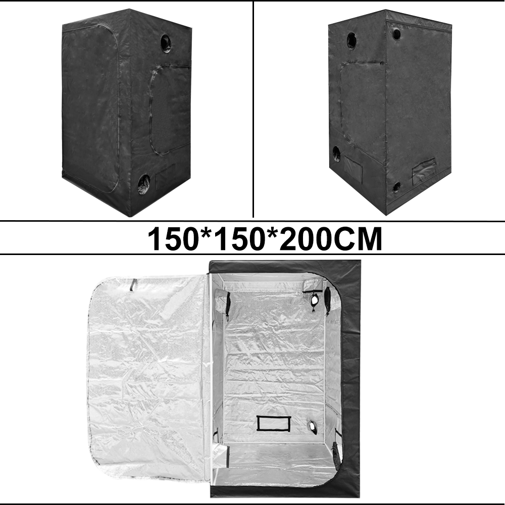 BEYLSION 1680D Grow Tent Grow Box Grow Indoor Tent Hydroponics Tent Grow Plants Room Tent For Growing Plant Greenhouse+Rope kit (3)
