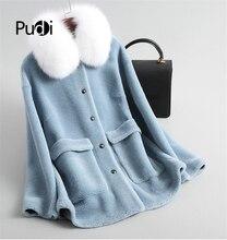 معطف الفراء الفراء PUDI