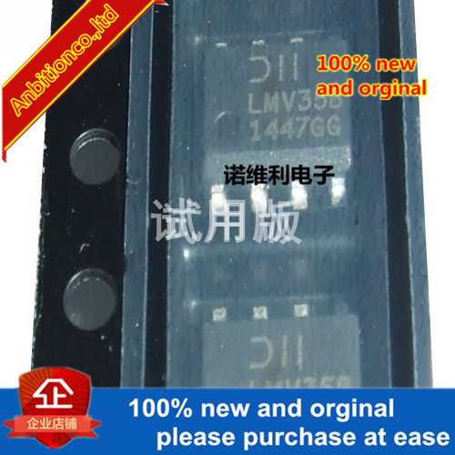 5pcs 100% New Original LMV358SG-13  SOIC8IC OPAMP GP 1MHZ RRO 8SOP In Stock