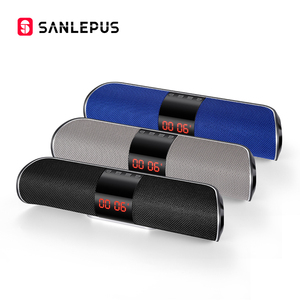 Image 5 - Sanlepus Bluetooth Outdoor Speaker Metal Draagbare Super Bass Draadloze Luidspreker 3D Stereo Muziek Surround Met Tfcard Aux