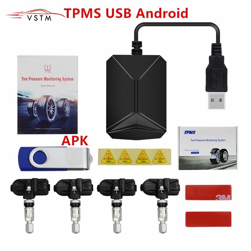 TPMS USB Android reifen druck monitor/Android navigation reifendruck überwachung alarm system übertragung navigation
