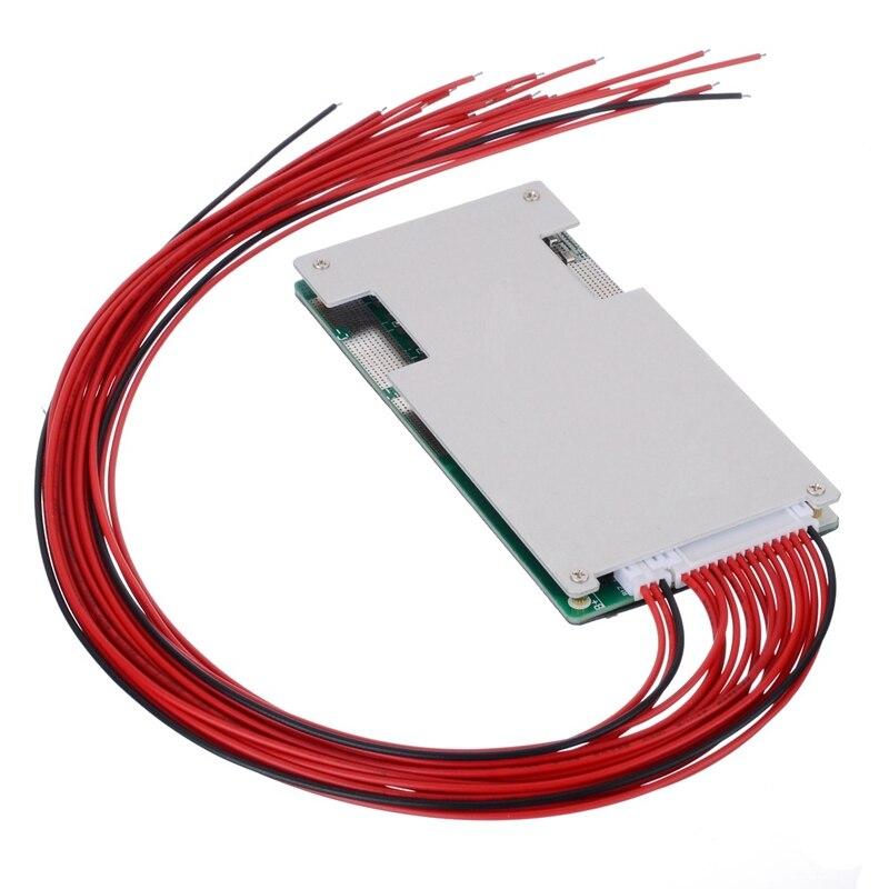 17S 60V 45A Protection Board Lithium Li-Ion Lipo Battery Bms Pcb Module