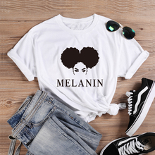 ONEME Melanin t-shirt Sexy Afro Lady Shirt