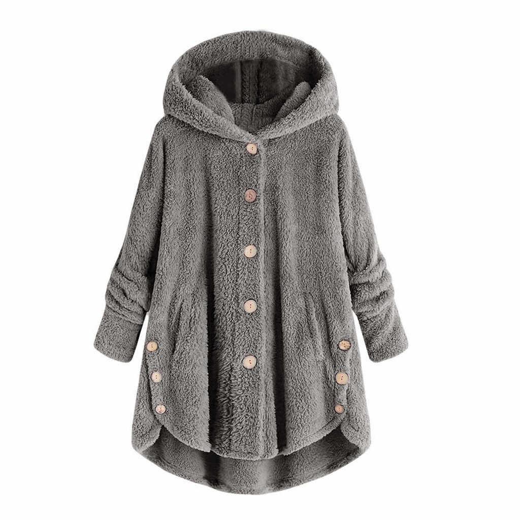 หญิงเสื้อตุ๊กตาเสื้อแฟชั่นผู้หญิงเสื้อปุยเสื้อผู้หญิง Hooded แจ็คเก็ต Pullover เสื้อกันหนาวขนาด plus