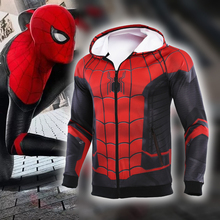 Spider-Man: Far From Home 2019 New 3D Compression Shirt HD original hand drawing Cosplay coat