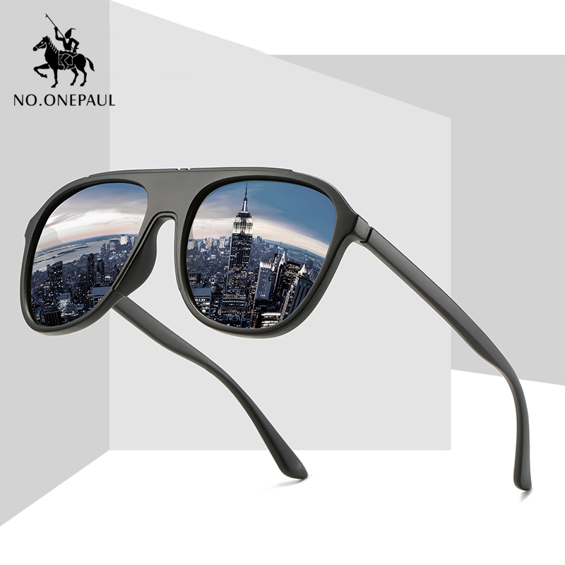 NO.ONEPAUL Classic Design With Brand Glasses From Polarized Fashion All-Fit UV400 Mirror Sunglass Guy's Sun Sunglasses Men
