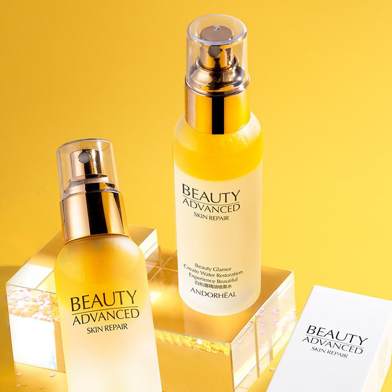 Sodium Hyaluronate Face Tonic 110ml Spay Bottle Whitening Moisturizing Hydration Facial Toner Pore Minimizer Skin Care Women M