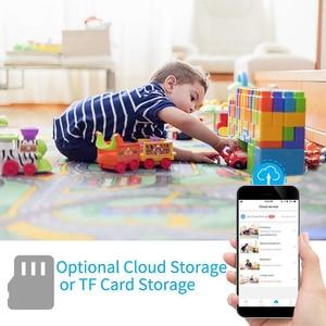 Image 3 - 1080P سحابة IP كاميرا مراقبة الطفل ذكي السيارات تتبع مراقبة أمن الوطن اللاسلكية واي فاي CCTV كاميرا مراقبة الطفل