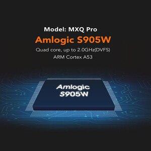 Image 2 - MXQ pro 4K Android 7.1 akıllı kutu 4K HD 3D 2.4G WiFi S905W dört çekirdekli medya oynatıcı akıllı tv android tv kutusu 2GB 16GB Android TV kutusu