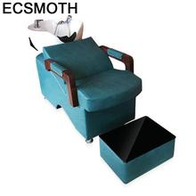 Купить с кэшбэком Belleza For Bed Lavacabezas Beauty Hairdresser De Cadeira Cabeleireiro Hair Furniture Silla Peluqueria Salon Shampoo Chair