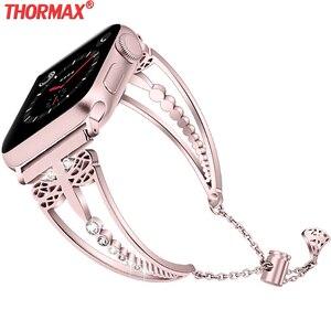 Women Diamond strap For Apple