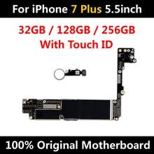 Nuovo Arrivo Sbloccato di Fabbrica Mainboard della Scheda Madre Per il iPhone 7 Plus 5.5 pollici Originale Con Touch ID IOS Funzioni Complete di Buona di prova