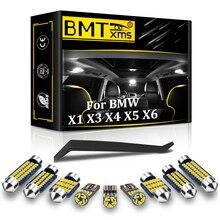 BMTxms vehículo LED Interior mapa cúpula luz en el maletero accesorios de coche Canbus para BMW X1 E84 X3 E83 F25 X5 E53 E70 X6 E71 2000-2015