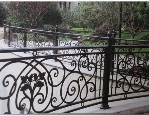 China Iron Company Fancy Steel Metal Aluminium Wrought Iron Balcony,iron Railing,iron Balustrades Design Hc-10