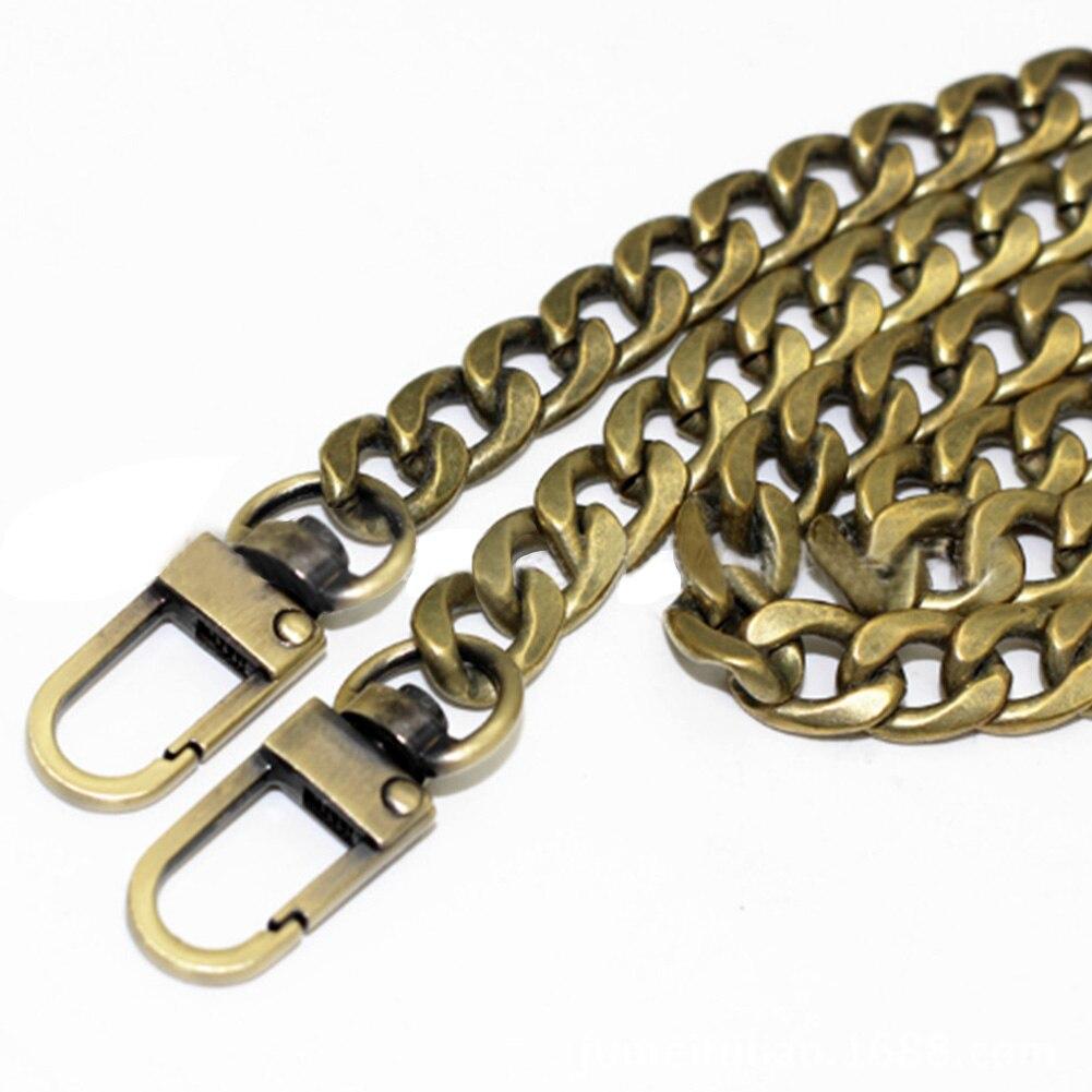 120cm Replacement Metal Purse Chain Shoulder Bag Straps Metal DIY Bag Chain Strap Metal Strap Handbags Accessories Parts Replace