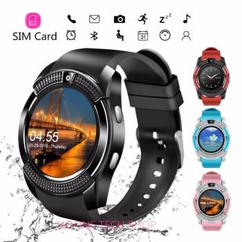 Smart fitness bracelet blood pressure measurement fitness tracker SIM card smart watch heart rate monitoring pedometer