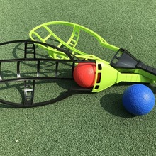 Parent-Child-Games 2-X-Racket And Throwing Catching Random-Colors Outdoor-Sports 4-X-Ball