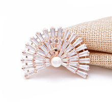 CINDY XIANG 10 Stye For Choose Cubic Zirconia Peacock Brooches For Women Copper Material Winter Sparking Brooch Pin High Quality