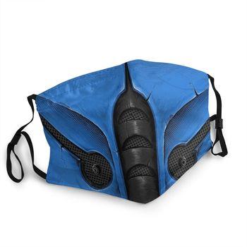 Mortal Kombat Sub Zero Reusable Face Mask Scorpion Game MKX Liu Kang Anti Haze Dustproof Protection Cover Respirator - discount item  40% OFF Mask