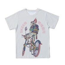 Verão novo estilo 3d fantasmas masculinos e deuses punk impresso camiseta roupas o-pescoço de manga curta tamanho grande 110-6xl (customizável)