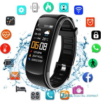2021 Smart Watch Men Women Sport Smartwatch Fitness Tracker Watch For Android iOS Heart Rate Monitor Electronic Clock Waterproof 1