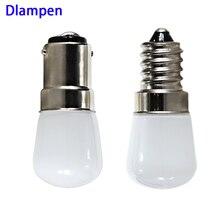 цены ampoule led bulb light T22 B15 E12 E14 12v 110v 220v 1.5W mini spotlight Refrigerator Fridge Lights frosted shell 12 volts lamp