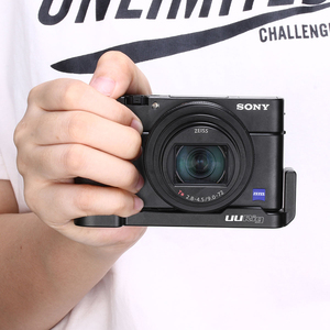 Image 2 - UURig R017 Vlog L Platte für Sony RX100 VII Kalten Schuh Montieren Mikrofon Griff Grip