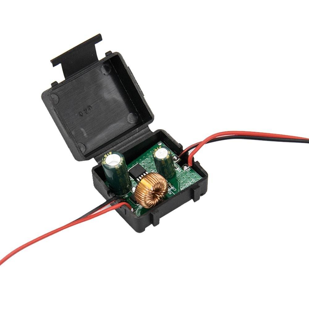 Filtre de Signal de puissance de voiture 12v Canbus caméra inverse redresseur de puissance relais de puissance condensateur filtre