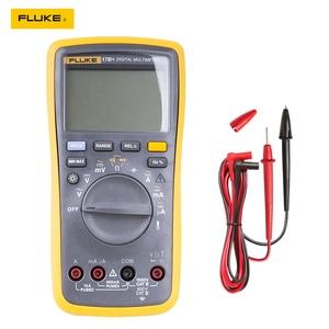 Image 3 - Автоматический цифровой мультиметр Fluke 15B +/17B +/18B +/12E + Plus, DMM AC/DC/диод/R/C, тестер тока