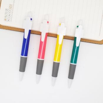 Wydrukuj swoje LOGO 500 sztuk promocyjny długopis plastikowy OEM tanie długopisy Kulkowe długopisy logo na zamówienie plastikowe długopisy mo43 tanie i dobre opinie CN (pochodzenie) Z tworzywa sztucznego 0 5mm Promocyjne pióra