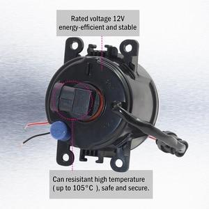 Image 4 - Cawaner עבור סוזוקי גרנד Vitara 2 / II סגור Off Road רכב JT 2005 2015 רכב 4000LM LED ערפל אור הרכבה מלאך העין DRL 12V