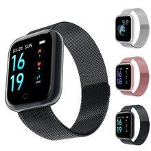 Smart Watch Waterproof Bracelet Activity Fitness Tracker Heart Rate Monitor BRIM Men Women Smartwatch VS Q9 Y6 Pro P68 P70