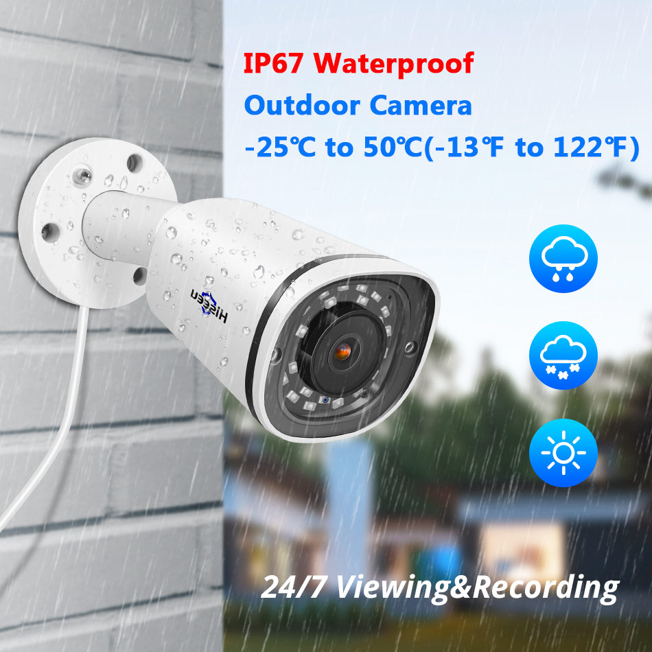 H.265 48V POE or DC12V HD 2MP//3MP//5MP CCTV DOME IP Camera ONVIF Hikvision NVR
