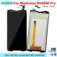 2160*1080 5.7 Polegada lcd telefone para blackview bv6800 pro display lcd montagem da tela de toque bv 6800 acessórios do telefone móvel