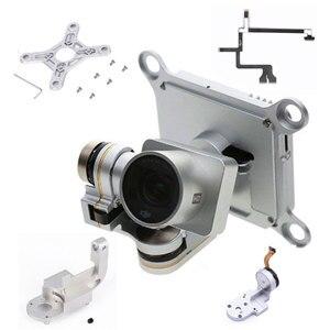 Repair Parts for DJI Phantom 3 Adv Pro 4K Camera Drone Gimbal Camera Yaw Arm Roll Bracket Flat Ribbon Cable Flex Gimbal Mount