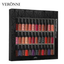 Lip Makeup Soft Matte Lip Cream 36pcs Set Lipstick Lip Gloss