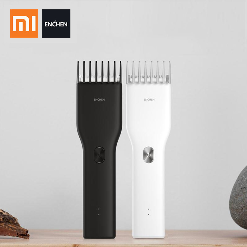 Xiaomi ENCHEN Boost Hair Trimmer Men's Electric Hair Clipper USB Rechargeable Professional Hair Cutter For Men Adult Razor